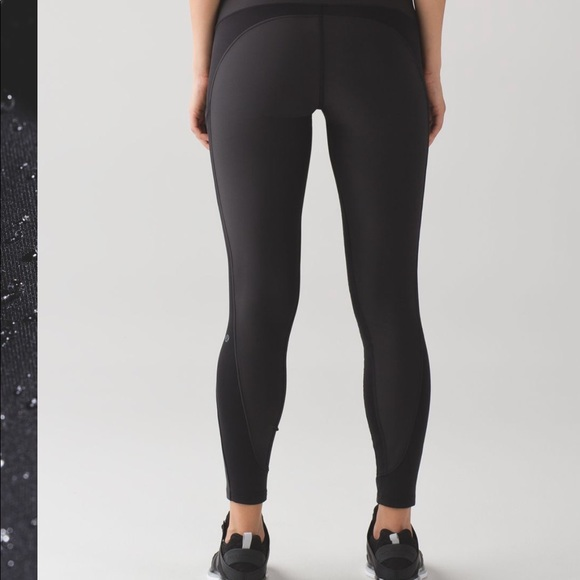 3ea1512748307 lululemon athletica Pants | Lululemon Sleet Sprinters In Black Sz 6 ...